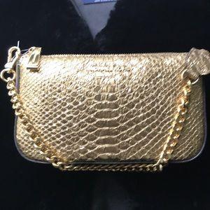 Michael Kors Gold Demi Bag